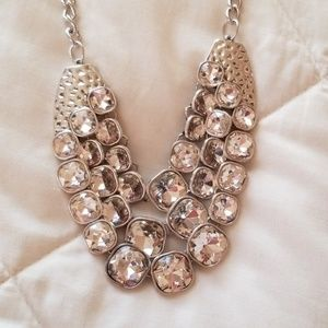 5 for $25 Silver Statement Neclace/Earring Set